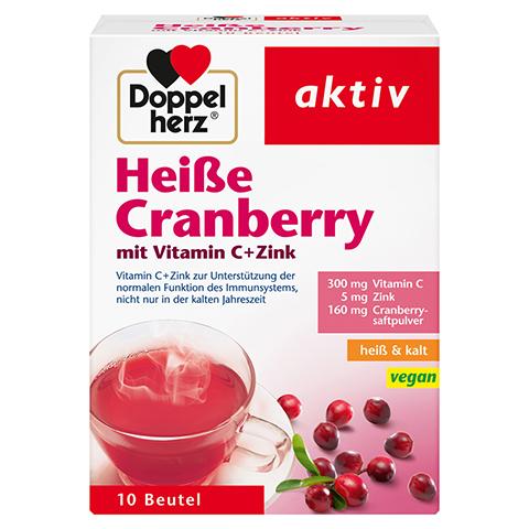 Doppelherz aktiv Heiße Cranberry mit Vitamin C + Zink 10 Stück