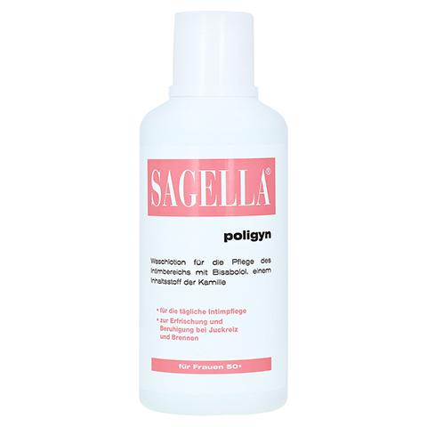 SAGELLA poligyn Intimwaschlotion für Frauen 50+ 500 Milliliter