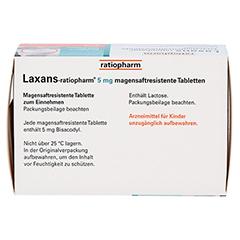 Laxans-ratiopharm 5mg 100 Stück N3 - Oberseite