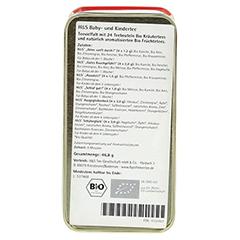 H&S Bio Kinderteedose Filterbeutel 24 Stück - Unterseite