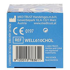 WELLION LUNA Cholesterinteststreifen 10 Stück - Unterseite