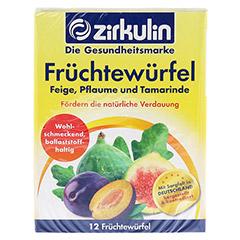 ZIRKULIN Früchtewürfel 12 Stück - Vorderseite