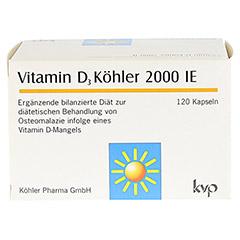 VITAMIN D3 Köhler 2.000 IE Kapseln 120 Stück - Vorderseite