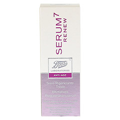 BOOTS LAB SERUM7 RENEW ultimat.Regenerationsserum 30 Milliliter - Vorderseite