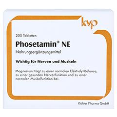PHOSETAMIN NE Tabletten 200 Stück - Vorderseite