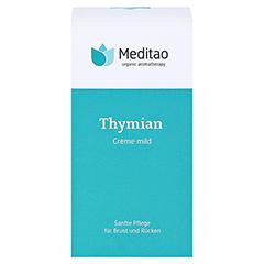 MEDITAO Thymiancreme mild 50 Milliliter - Vorderseite