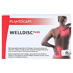WELLDISC PLUS Kapseln 60 Stück - Vorderseite