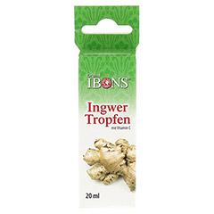 IBONS Ingwertropfen 20 Milliliter - Vorderseite