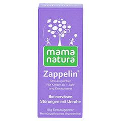 MAMA natura Zappelin Globuli 10 Gramm N1 - Vorderseite