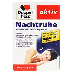 Doppelherz Nachtruhe Baldrian Einschlaf-Dragees N 30 Stück - Vorderseite