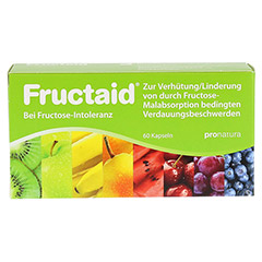 Fructaid Kapseln 60 Stück - Vorderseite