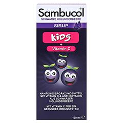SAMBUCOL Saft für Kinder 120 Milliliter - Vorderseite