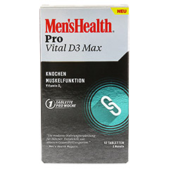 MEN'S HEALTH Pro Vital D3 Max Tabletten 12 Stück - Vorderseite
