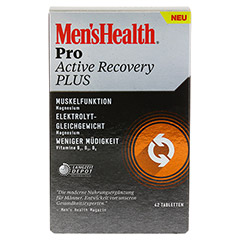 MEN'S HEALTH Pro Active Recovery Plus Tabletten 42 Stück - Vorderseite