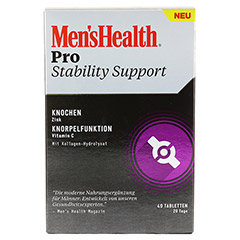MEN'S HEALTH Pro Stability Support Tabletten 40 Stück - Vorderseite
