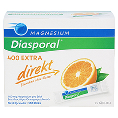 MAGNESIUM DIASPORAL 400 Extra direkt Granulat 100 Stück - Vorderseite