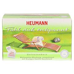 HEUMANN Tee fühl dich entspannt Filterbeutel 20 Stück - Vorderseite