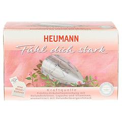 HEUMANN Tee fühl dich stark Filterbeutel 20 Stück - Vorderseite