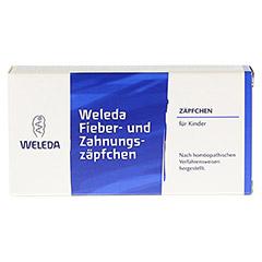 FIEBER- UND ZAHNUNGSZÄPFCHEN 10 Stück N1 - Vorderseite