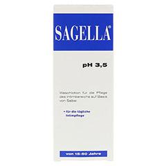 SAGELLA pH 3,5 Waschemulsion 100 Milliliter - Vorderseite