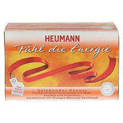 HEUMANN Fühl die Energie Tee Filterbeutel 20 Stück - Vorderseite