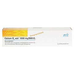 Calcium D3 acis 1000mg/880I.E. 20 Stück N1 - Vorderseite