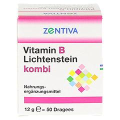 VITAMIN B Lichtenstein Kombi Dragees 50 Stück - Vorderseite