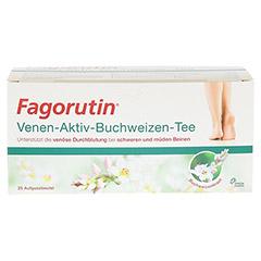 FAGORUTIN Venen-Aktiv-Buchweizen-Tee Filterbeutel 25 Stück - Vorderseite
