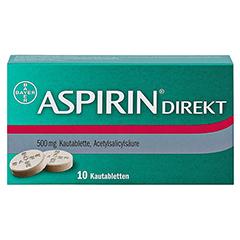 Aspirin Direkt 10 Stück N1 - Vorderseite