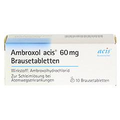 Ambroxol acis 60mg 10 Stück - Vorderseite