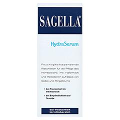 SAGELLA hydraserum Intimwaschlotion 200 Milliliter - Vorderseite