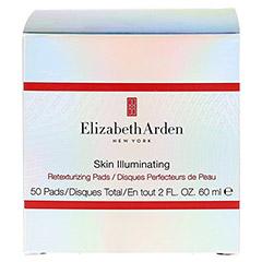 Elizabeth Arden SKIN ILLUMINATING Retexturizing Pads 50 Stück - Vorderseite