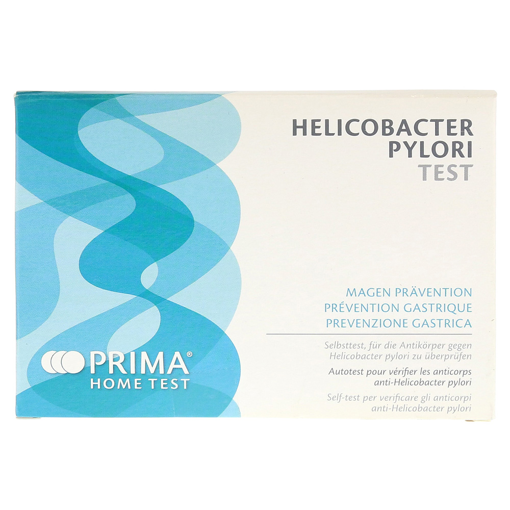 Prima Home Test Helicobacter Pylori Selbsttest 1 Stuck