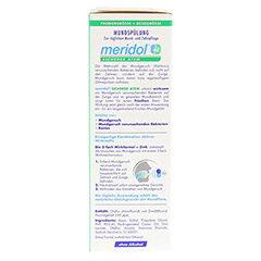 MERIDOL sicherer Atem Mundspülung 100 Milliliter - Linke Seite