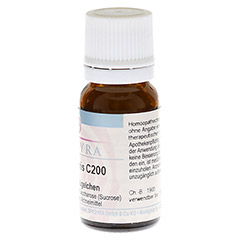 HEPAR SULFURIS C 200 Globuli 10 Gramm N1 - Linke Seite