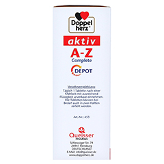 DOPPELHERZ A-Z Depot Tabletten 40 Stück - Linke Seite