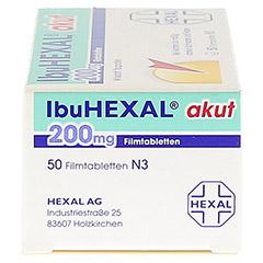 IbuHEXAL akut 200mg 50 Stück N3 - Linke Seite