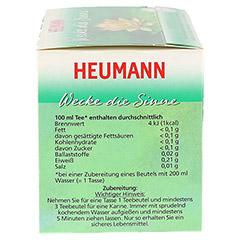 HEUMANN Wecke die Sinne Tee Filterbeutel 20 Stück - Linke Seite