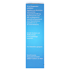 Maaloxan 25mVal Liquid Beutel 10x10 Milliliter - Linke Seite