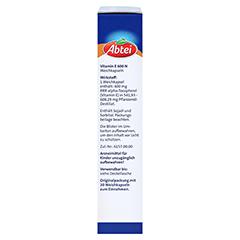 ABTEI Vitamin E 600 (Forte Plus) 30 Stück - Linke Seite