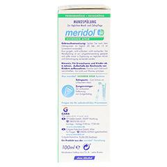 MERIDOL sicherer Atem Mundspülung 100 Milliliter - Rechte Seite