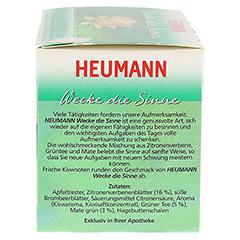 HEUMANN Wecke die Sinne Tee Filterbeutel 20 Stück - Rechte Seite