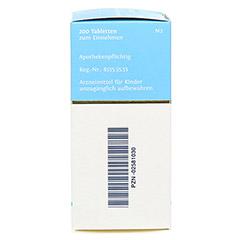 BIOCHEMIE DHU 11 Silicea D 12 Tabletten 200 Stück N2 - Rechte Seite