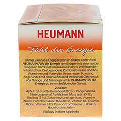 HEUMANN Fühl die Energie Tee Filterbeutel 20 Stück - Rechte Seite
