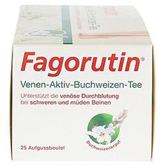 FAGORUTIN Venen-Aktiv-Buchweizen-Tee Filterbeutel 25 Stück - Rechte Seite