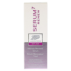 BOOTS LAB SERUM7 RENEW ultimat.Regenerationsserum 30 Milliliter - Rückseite