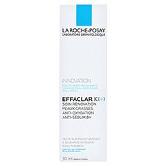 ROCHE POSAY Effaclar K+ Creme + gratis Effaclar Reinigung & Pflege 30 Milliliter - Rückseite