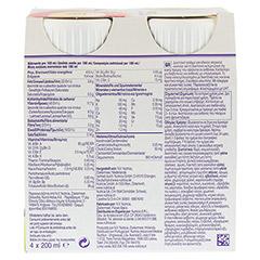 DIASIP Vanillegeschmack 4x200 Milliliter - Rückseite