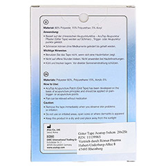 GITTER Tape AcuTop 5x6 cm 20x2 Stück - Rückseite