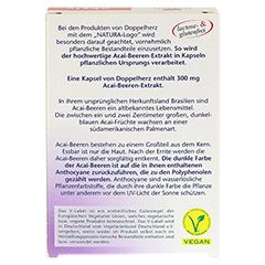 DOPPELHERZ Acai-Beeren Extrakt Kapseln 30 Stück - Rückseite